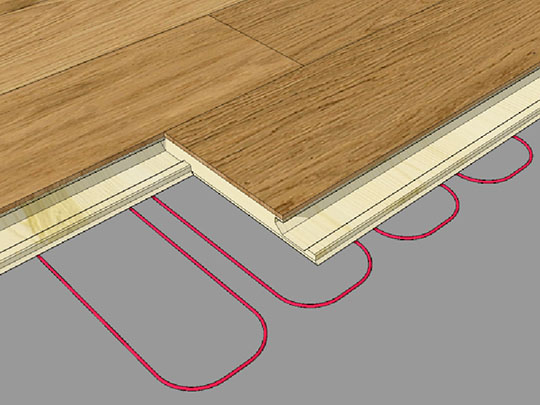 Installing Engineered Wood Floors On Underfloor Heating Kahrs