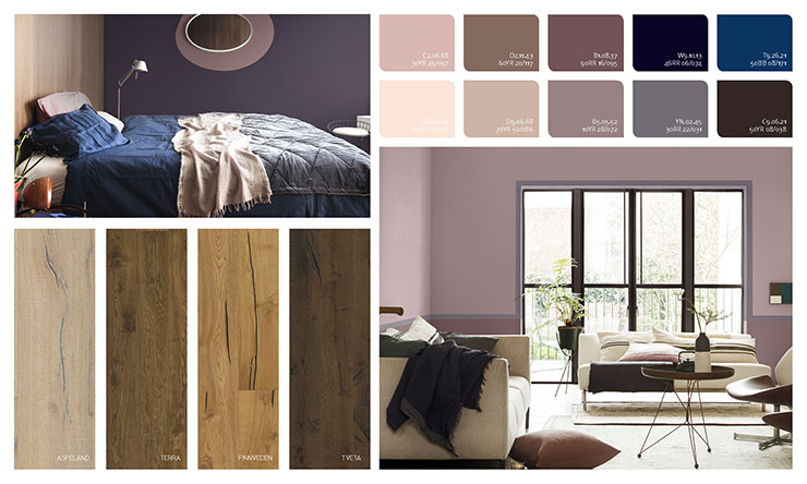 Fine Colour Trends 2018 By Kahrs In Cooperation With Dulux Kahrs Interior Design Ideas Clesiryabchikinfo