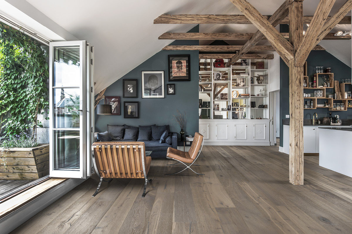 Superbe Wood Floors With Different Shades Of Gray | Kährs US