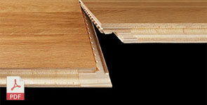 INSTALLATION GUIDE KÄHRS FLOATING WOOD FLOORING WITH WOODLOC® 5S AND