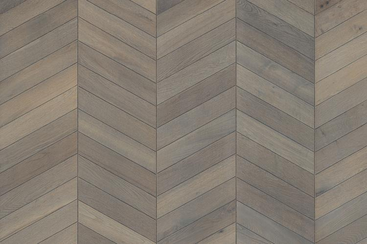 Oak Chevron Grey